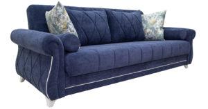 Диван-кровать Роза чернильный синий-15674 фото | интернет-магазин Складно