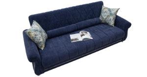 Диван-кровать Роза чернильный синий 43330 рублей, фото 3   интернет-магазин Складно