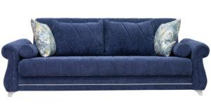 Диван-кровать Роза чернильный синий 43330 рублей, фото 2   интернет-магазин Складно