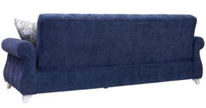 Диван-кровать Роза чернильный синий 43330 рублей, фото 5   интернет-магазин Складно