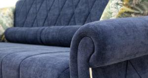 Диван-кровать Роза чернильный синий 43330 рублей, фото 8   интернет-магазин Складно