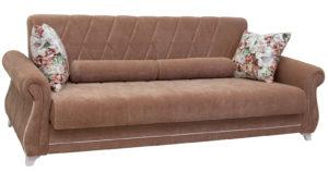 Диван-кровать Роза глиняный-коричневый-15649 фото | интернет-магазин Складно