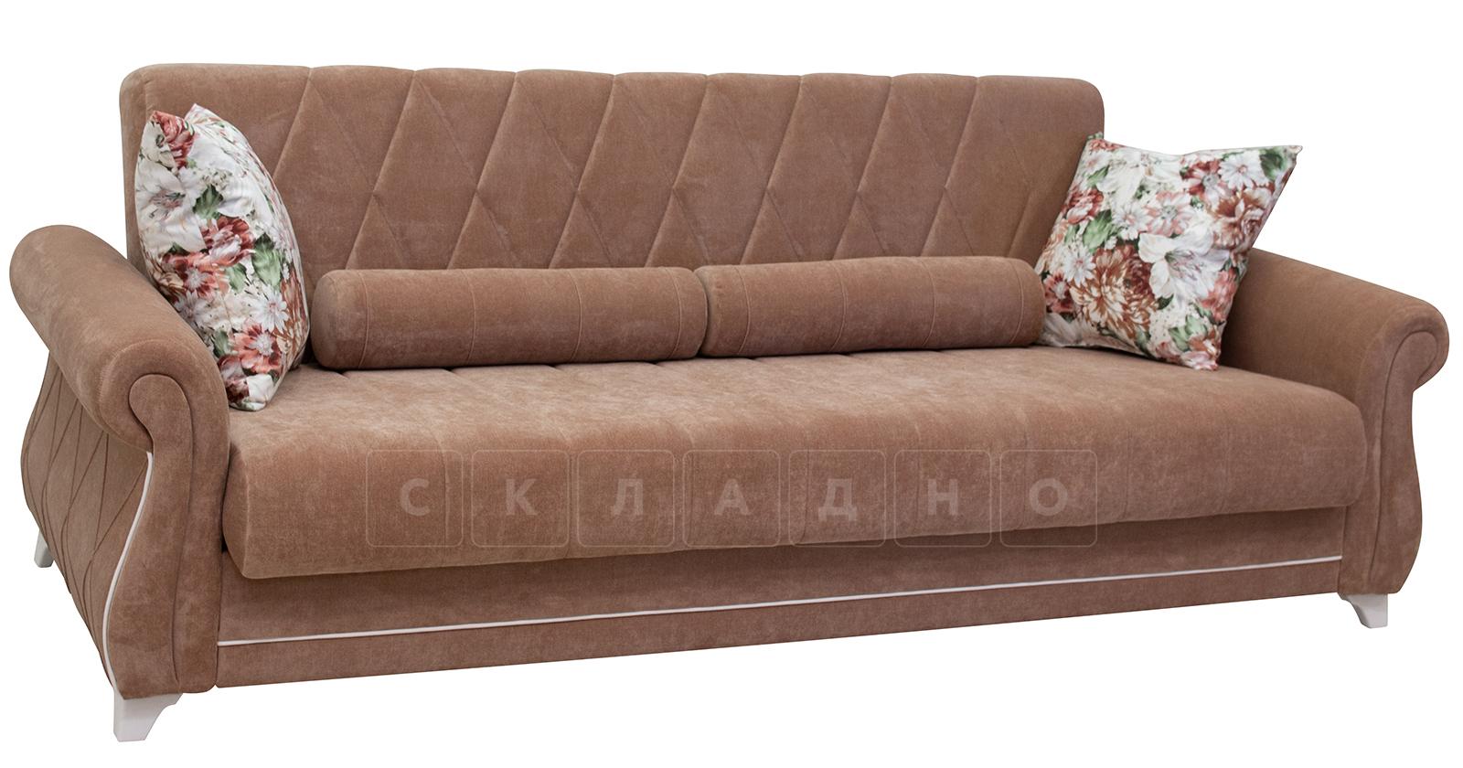 Диван-кровать Роза глиняный-коричневый фото 1   интернет-магазин Складно