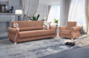 Диван-кровать Роза глиняный-коричневый 43330 рублей, фото 4   интернет-магазин Складно