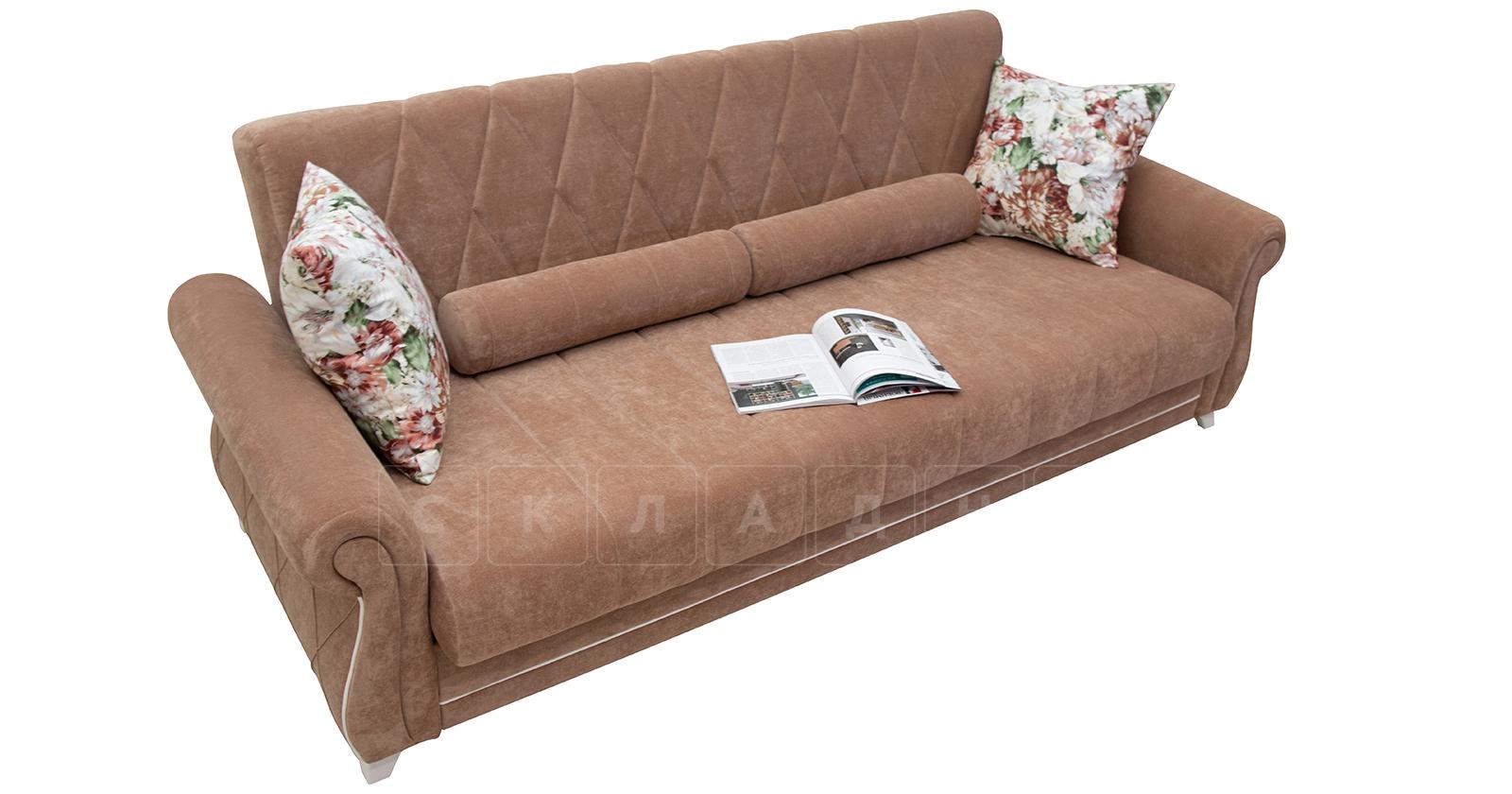 Диван-кровать Роза глиняный-коричневый фото 3   интернет-магазин Складно