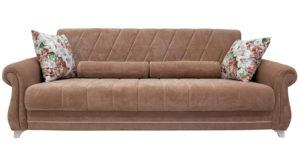 Диван-кровать Роза глиняный-коричневый 43330 рублей, фото 2   интернет-магазин Складно