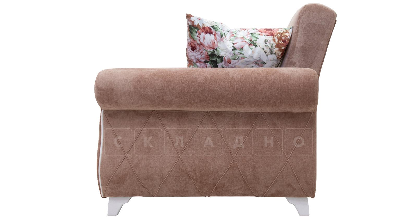 Диван-кровать Роза глиняный-коричневый фото 6   интернет-магазин Складно