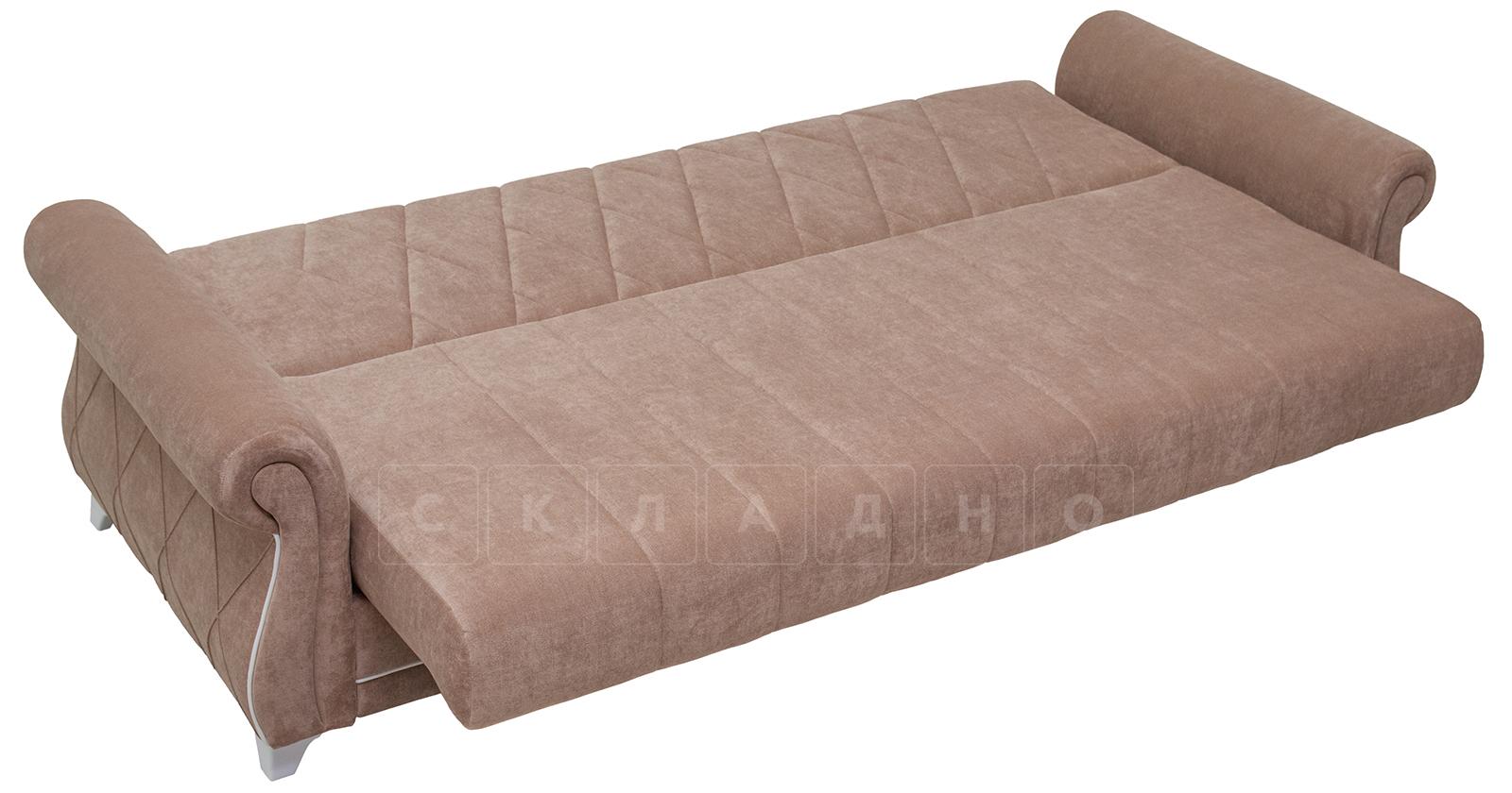 Диван-кровать Роза глиняный-коричневый фото 7   интернет-магазин Складно