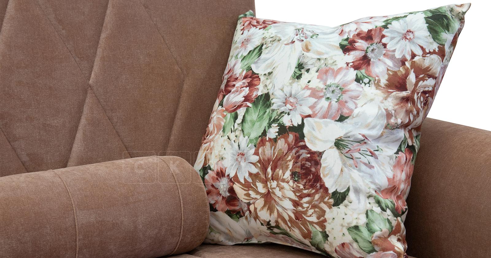 Диван-кровать Роза глиняный-коричневый фото 9   интернет-магазин Складно