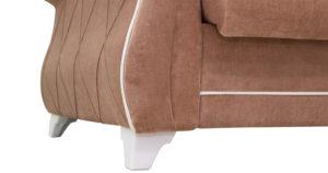 Диван-кровать Роза глиняный-коричневый 43330 рублей, фото 10   интернет-магазин Складно