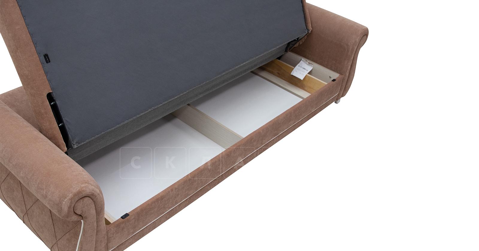 Диван-кровать Роза глиняный-коричневый фото 11   интернет-магазин Складно