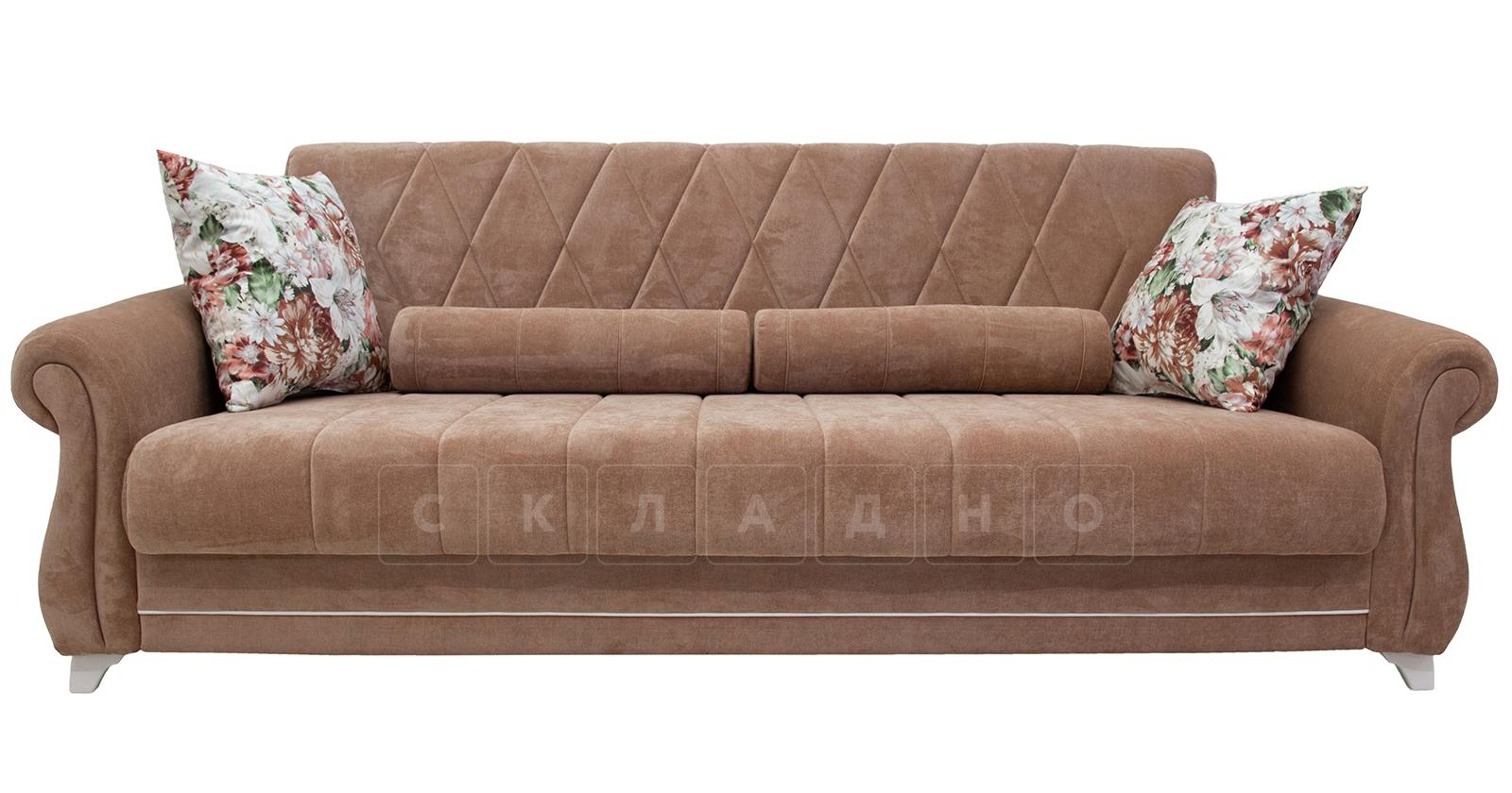 Диван-кровать Роза глиняный-коричневый фото 2   интернет-магазин Складно