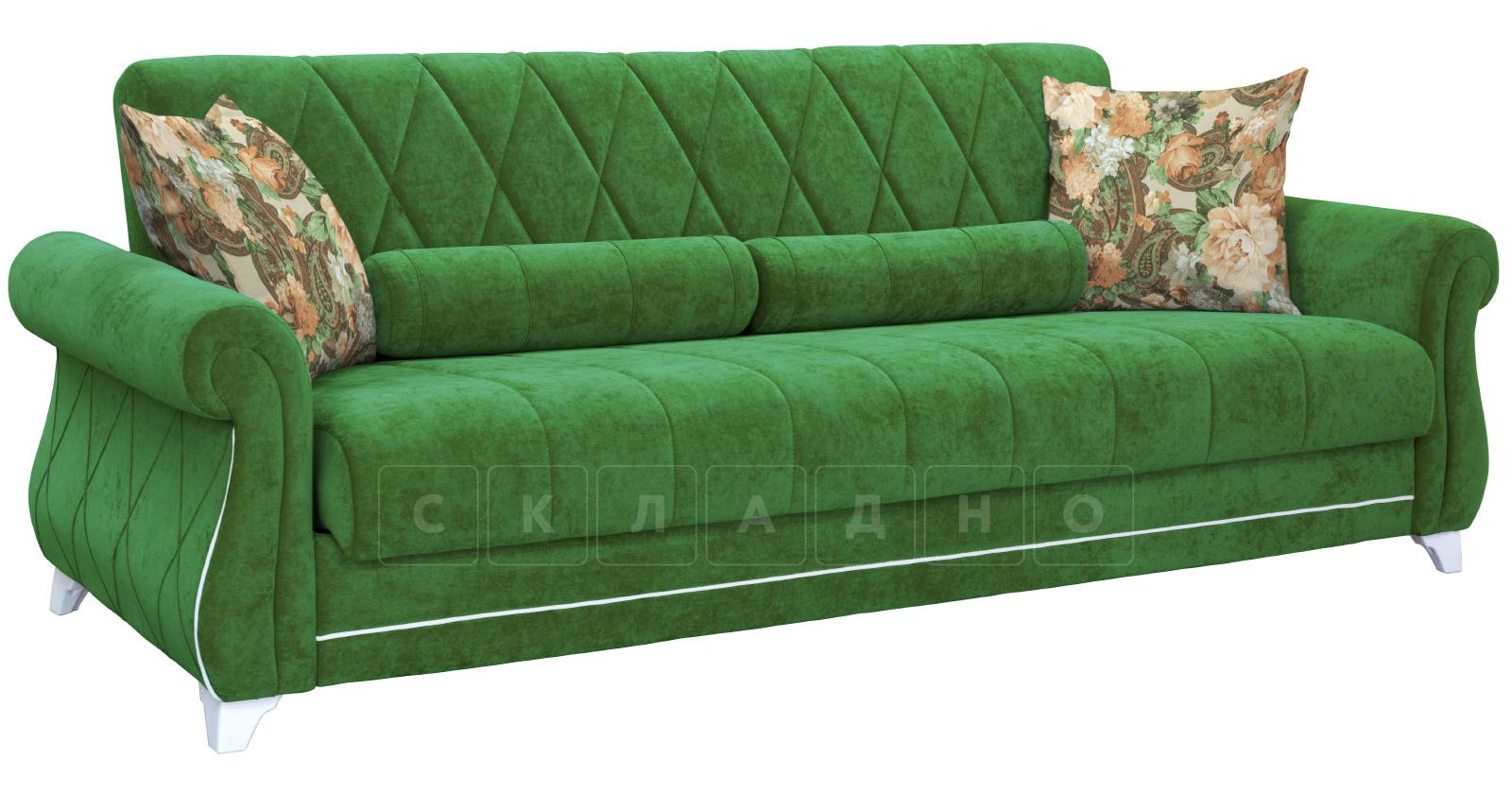 Диван-кровать Роза хвойный зеленый фото 2   интернет-магазин Складно