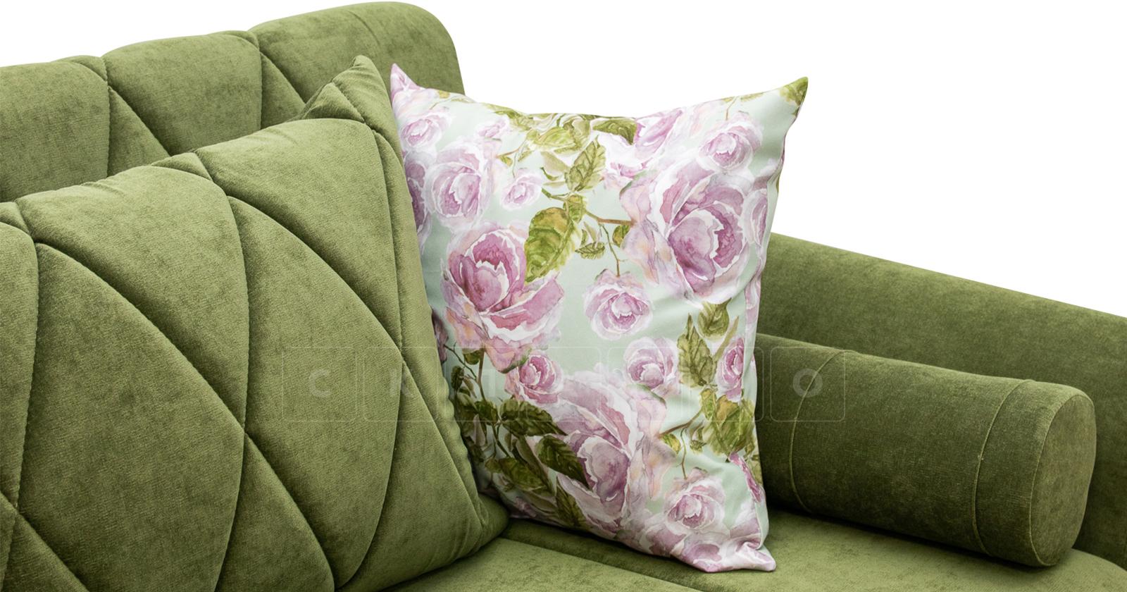 Диван-кровать Роза оливковый фото 11 | интернет-магазин Складно