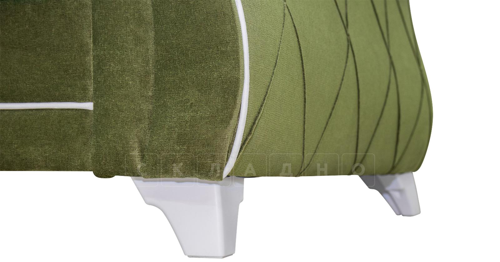 Диван-кровать Роза оливковый фото 12 | интернет-магазин Складно