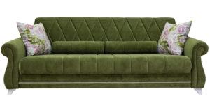Диван-кровать Роза оливковый 43330 рублей, фото 2 | интернет-магазин Складно