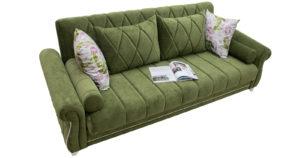 Диван-кровать Роза оливковый 43330 рублей, фото 5 | интернет-магазин Складно