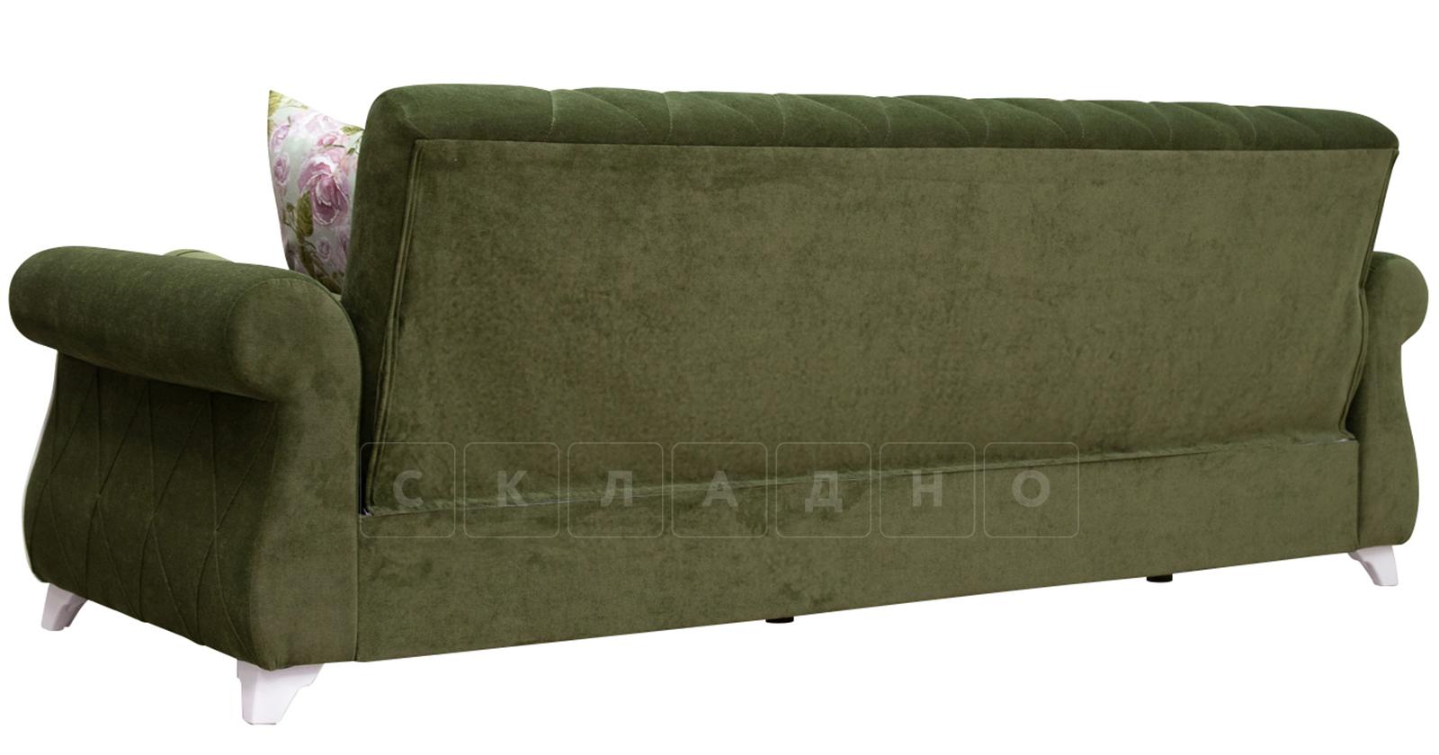 Диван-кровать Роза оливковый фото 7 | интернет-магазин Складно