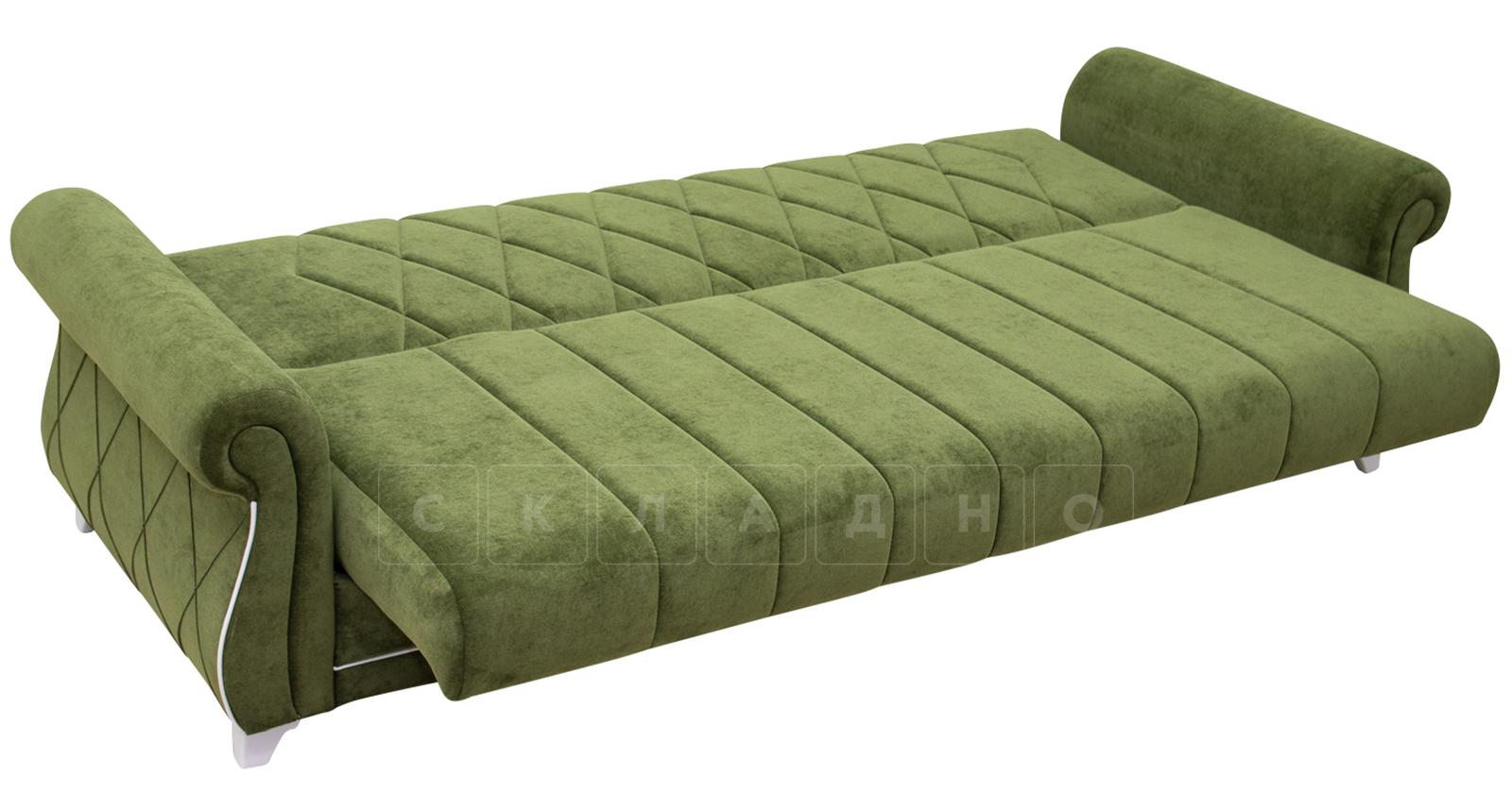 Диван-кровать Роза оливковый фото 8 | интернет-магазин Складно