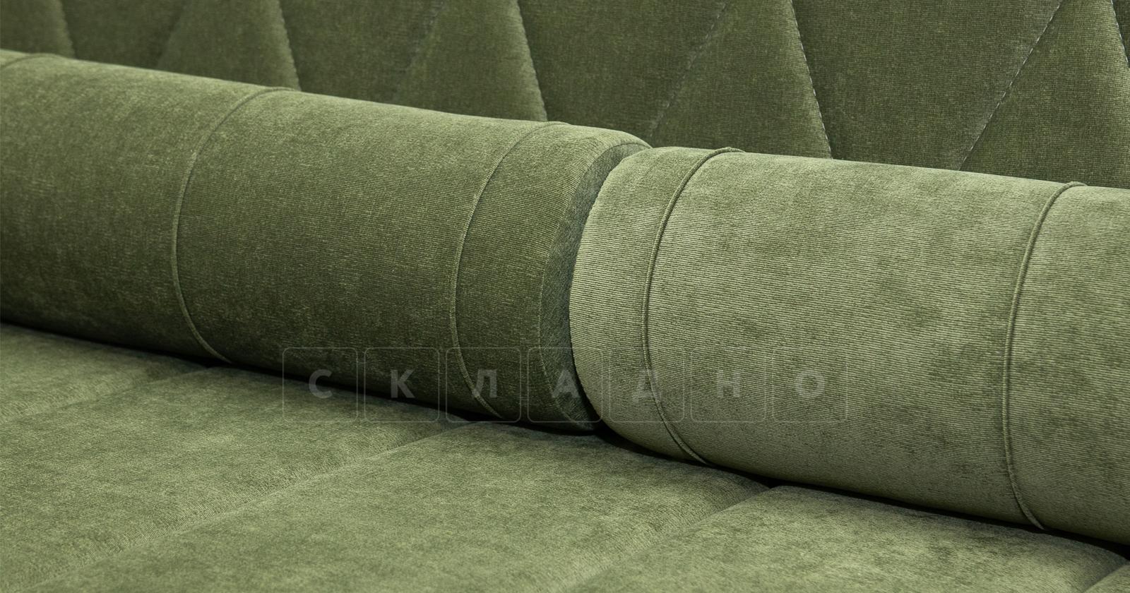 Диван-кровать Роза оливковый фото 9 | интернет-магазин Складно