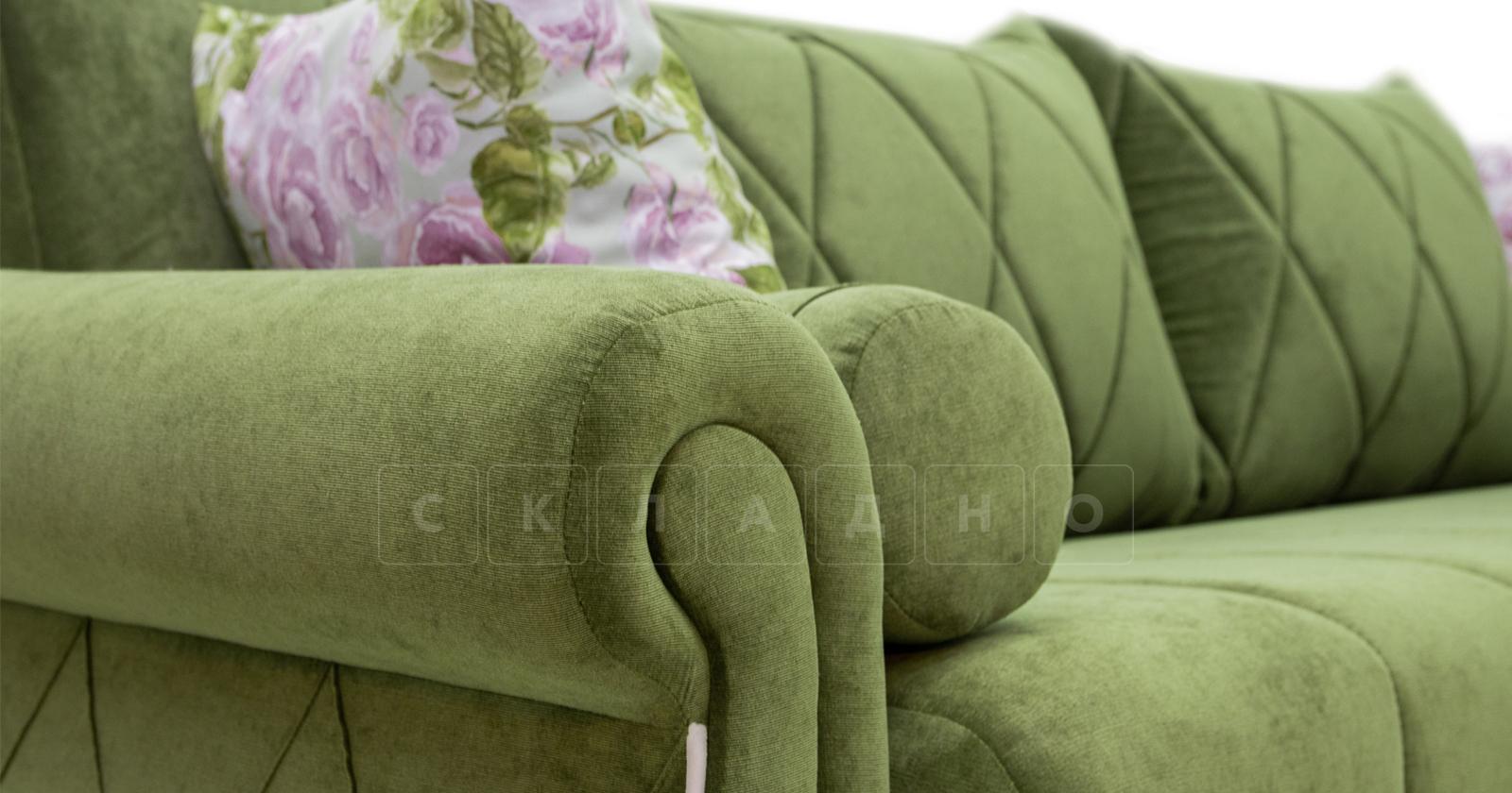 Диван-кровать Роза оливковый фото 10 | интернет-магазин Складно