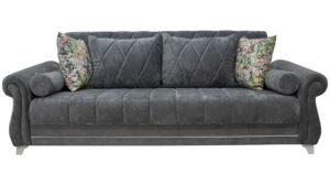 Диван-кровать Роза стальной серый 43330 рублей, фото 4   интернет-магазин Складно