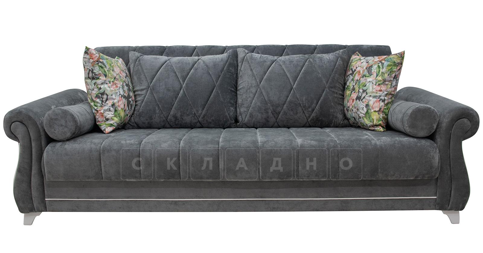 Диван-кровать Роза стальной серый фото 4   интернет-магазин Складно