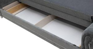 Диван-кровать Роза стальной серый 43330 рублей, фото 11   интернет-магазин Складно