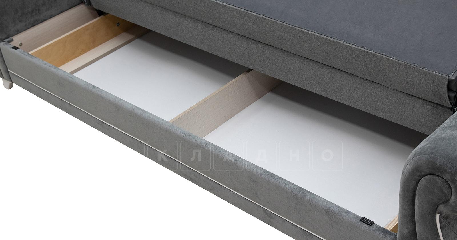 Диван-кровать Роза стальной серый фото 11   интернет-магазин Складно