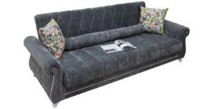 Диван-кровать Роза стальной серый 43330 рублей, фото 2   интернет-магазин Складно