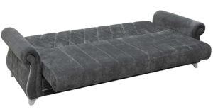 Диван-кровать Роза стальной серый 43330 рублей, фото 7   интернет-магазин Складно