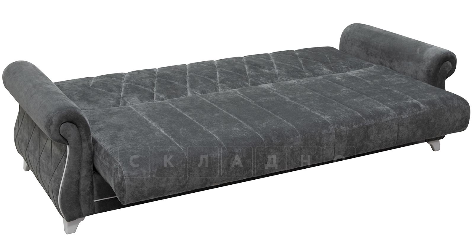 Диван-кровать Роза стальной серый фото 7   интернет-магазин Складно