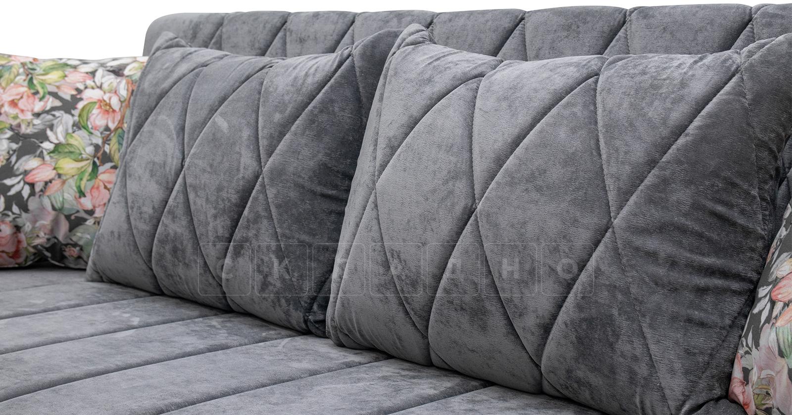 Диван-кровать Роза стальной серый фото 8   интернет-магазин Складно