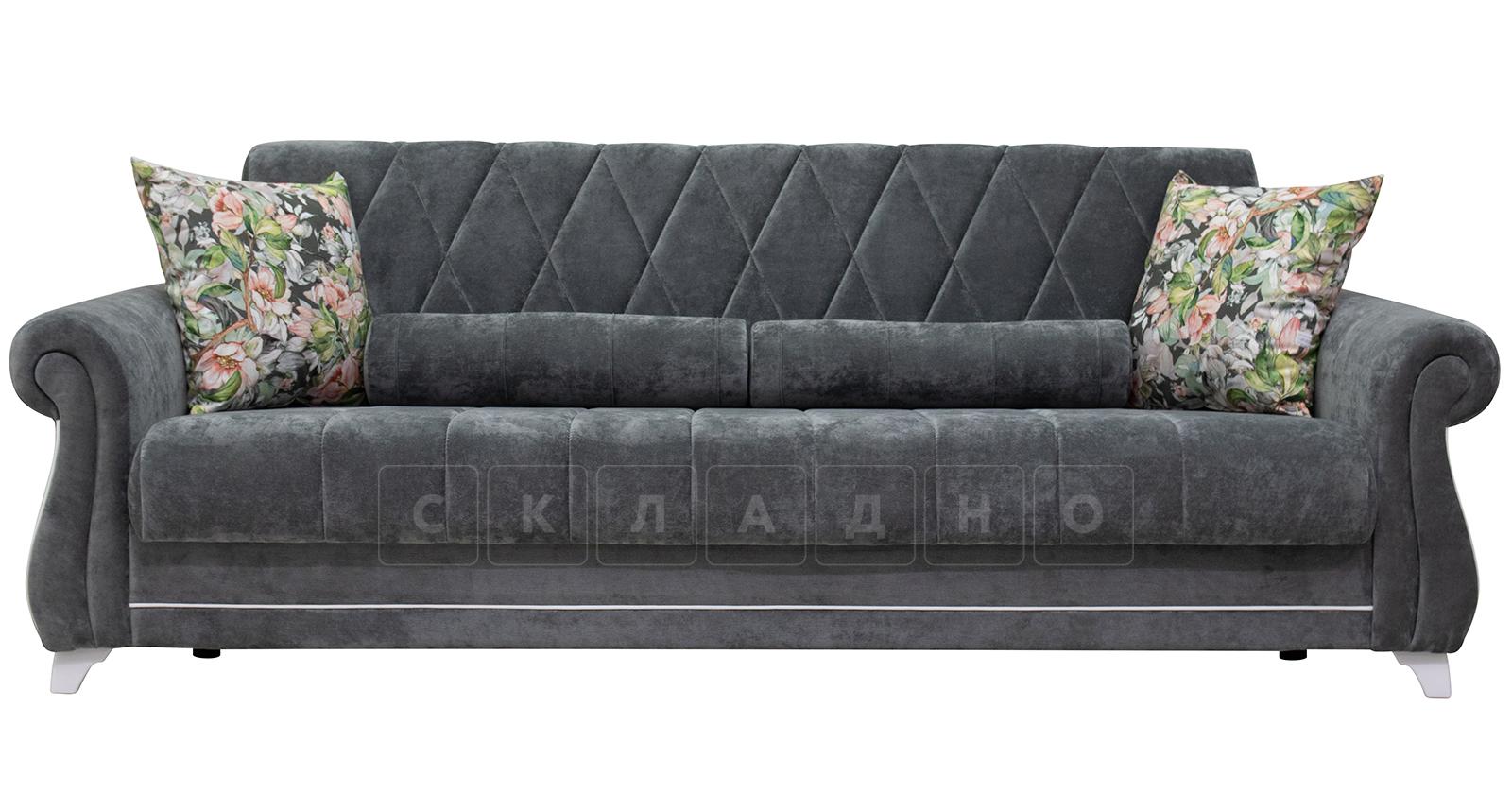 Диван-кровать Роза стальной серый фото 3   интернет-магазин Складно