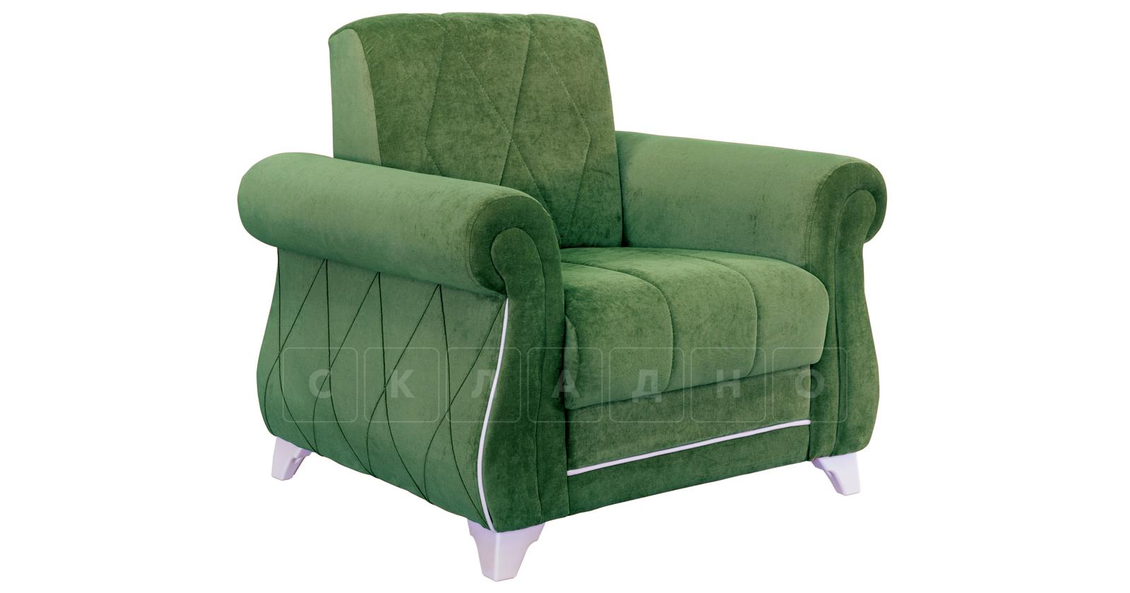 Кресло для отдыха Роза хвойный зеленый фото 1 | интернет-магазин Складно