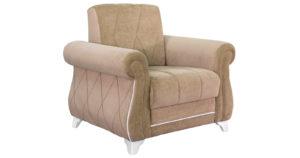 Кресло для отдыха Роза бежево-песочный-15812 фото | интернет-магазин Складно