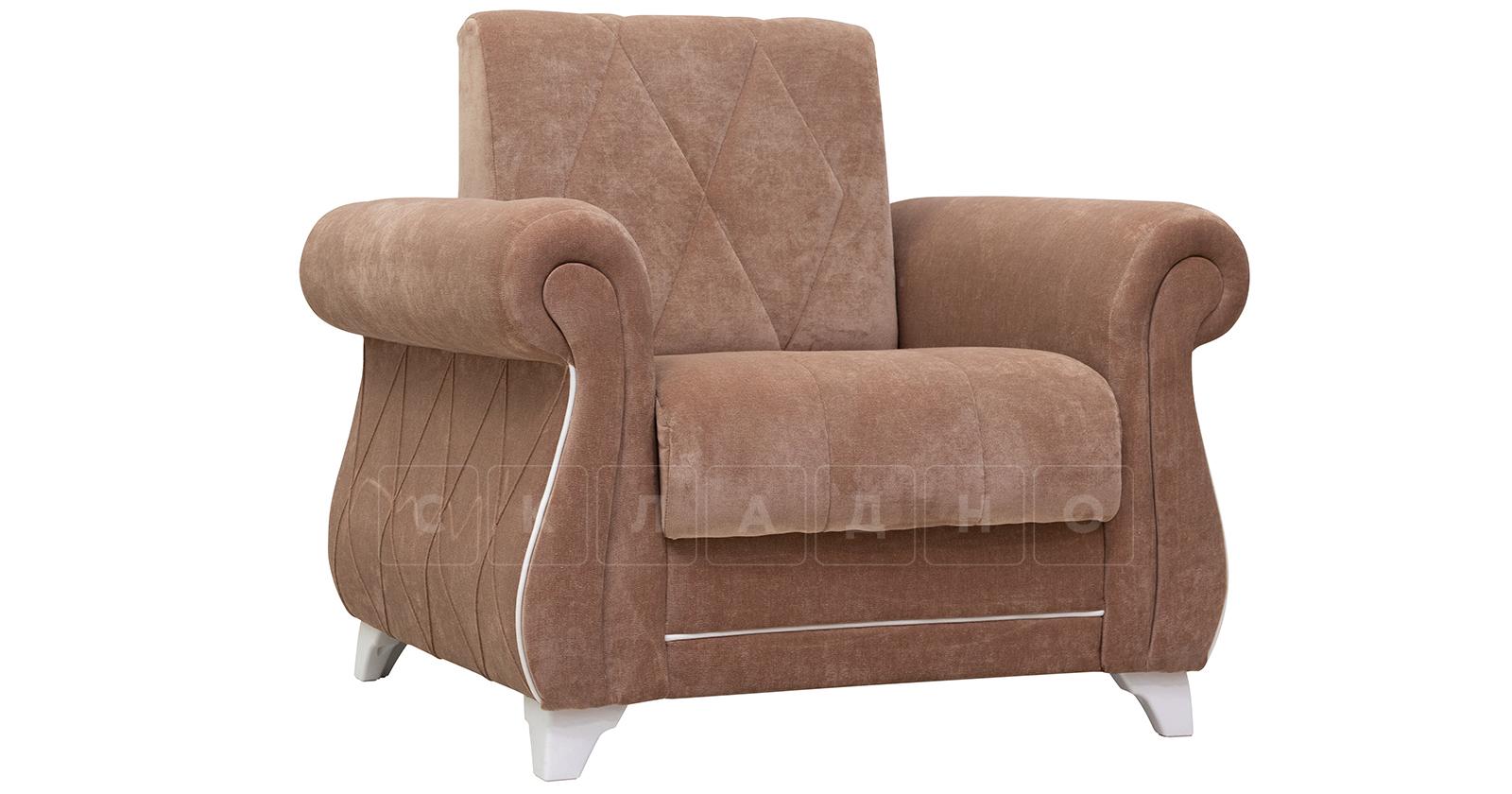 Кресло для отдыха Роза глиняный-коричневый фото 1   интернет-магазин Складно