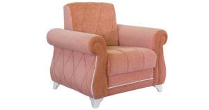 Кресло для отдыха Роза лососевый-15814 фото | интернет-магазин Складно