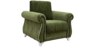 Кресло для отдыха Роза оливковый-15780 фото | интернет-магазин Складно