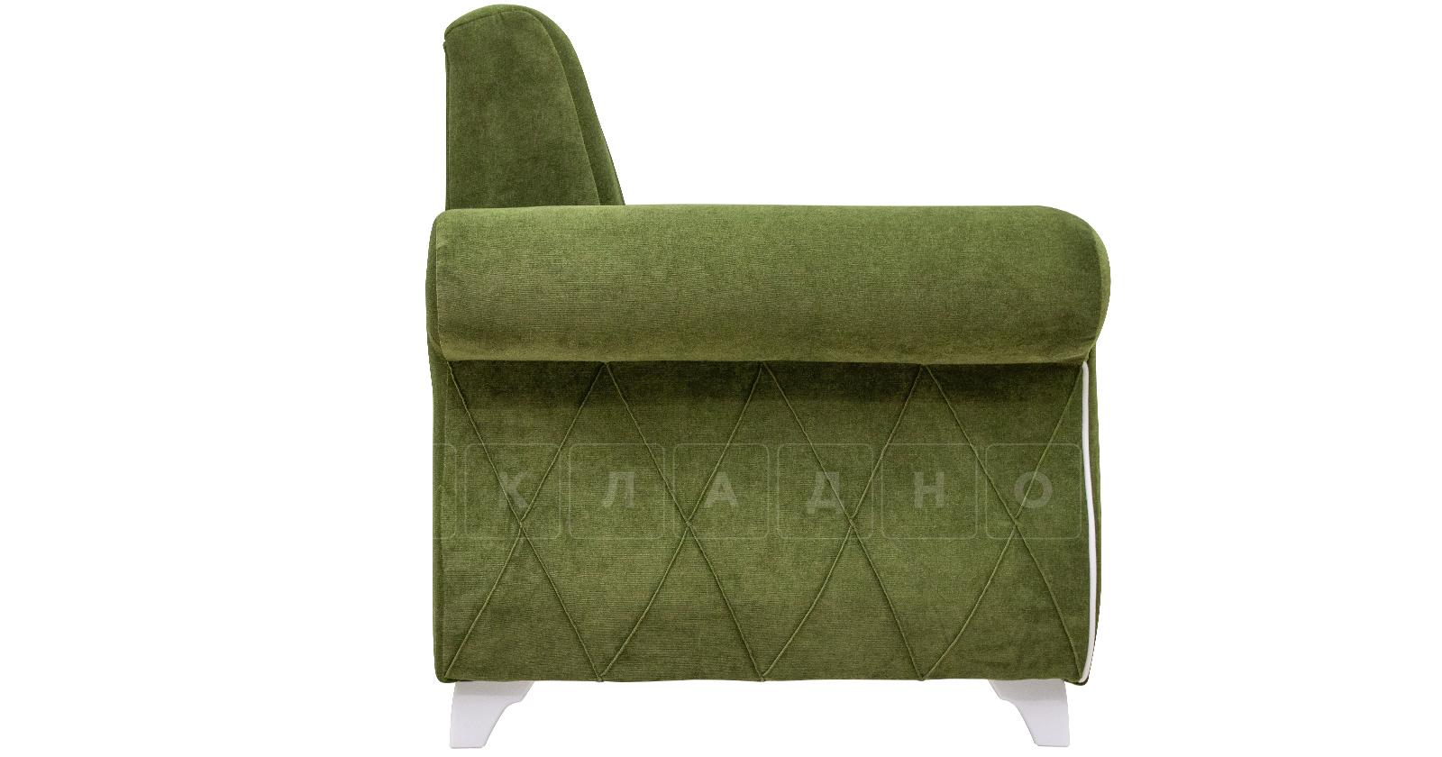 Кресло для отдыха Роза оливковый фото 3 | интернет-магазин Складно