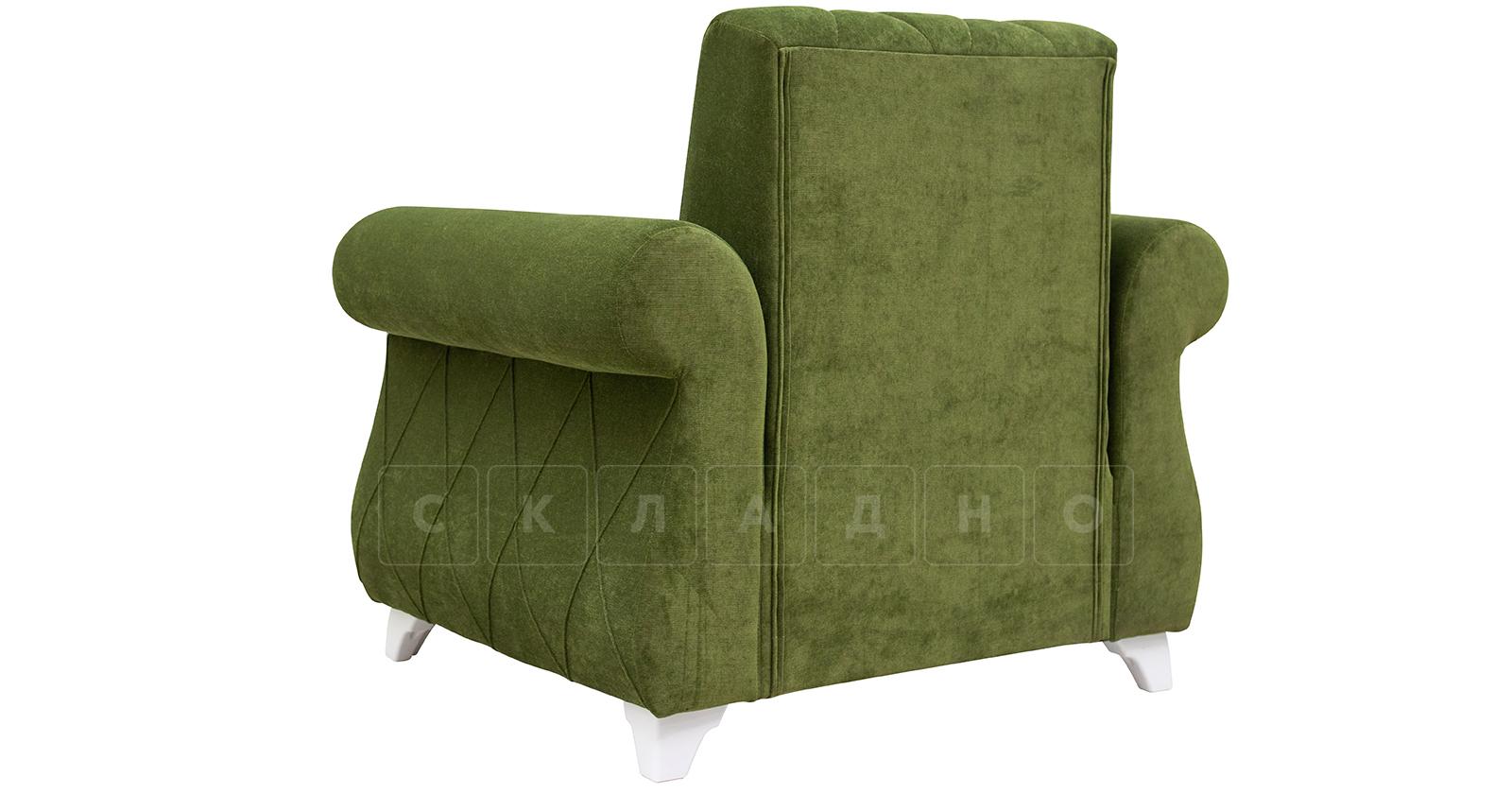 Кресло для отдыха Роза оливковый фото 4 | интернет-магазин Складно