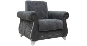 Кресло для отдыха Роза стальной серый-15790 фото | интернет-магазин Складно