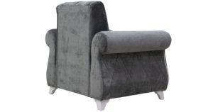 Кресло для отдыха Роза стальной серый 14990 рублей, фото 4 | интернет-магазин Складно