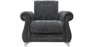Кресло для отдыха Роза стальной серый 14990 рублей, фото 2 | интернет-магазин Складно