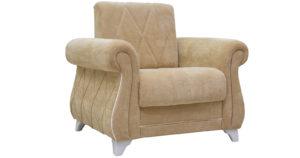 Кресло для отдыха Роза желто-песочный  14990  рублей, фото 1 | интернет-магазин Складно