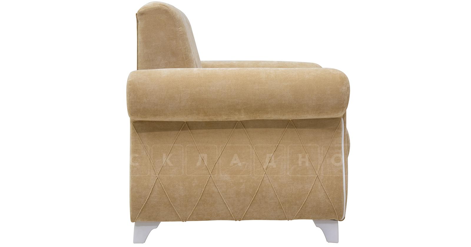 Кресло для отдыха Роза желто-песочный фото 3 | интернет-магазин Складно