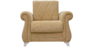 Кресло для отдыха Роза желто-песочный 14990 рублей, фото 2 | интернет-магазин Складно