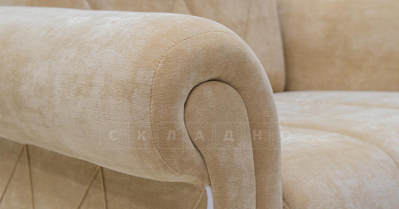 Кресло для отдыха Роза желто-песочный фото 6 | интернет-магазин Складно