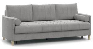 Диван-кровать Лорен серебристый серый-15571 фото | интернет-магазин Складно