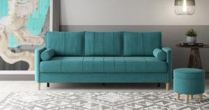 Диван-кровать Лорен бирюзовый 36990 рублей, фото 2 | интернет-магазин Складно